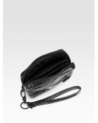Alexander Wang - Black Fumo Laminated Lambskin Bag - Lyst
