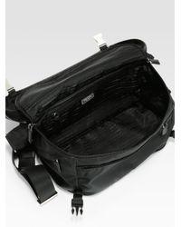 Prada Black Small Nylon Shoulder Bag for men