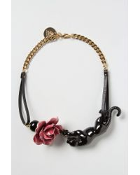 Andres Gallardo | Pink Prowling Jaguar Necklace | Lyst