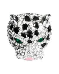 ASOS - Metallic Panther Ring - Lyst