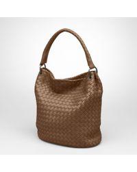 Bottega Veneta Brown Junior Nappa Bag