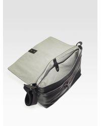Jack Spade | Black Mill Leather Field Messenger Bag for Men | Lyst
