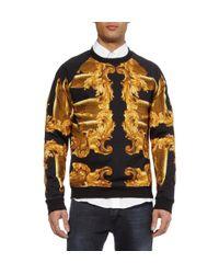 Katie Eary Black Fish and Baroqueprint Cottonjersey Sweatshirt for men