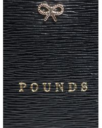 Anya Hindmarch Black Pounds Pouch