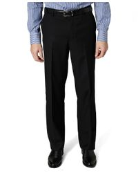 Brooks Brothers - Black Madison Fit Plain-front Covert Twill Trousers for Men - Lyst