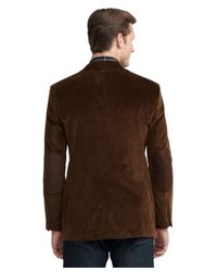 Brooks Brothers Brown Fitzgerald Fit Relaxed Corduroy Sport Coat for men