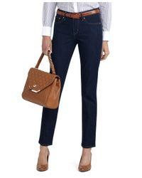 Brooks Brothers | Blue Slight Curve Slim Leg Jeans | Lyst