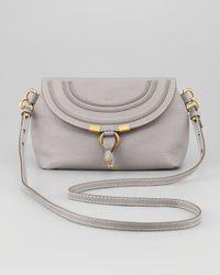 Chloé Gray Marcie Crossbody Bag