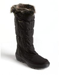 Pajar - Alexandra Snow Boot Black Fabric - Lyst