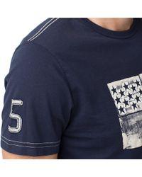 Tommy Hilfiger Blue Anchor Regular Fit Tshirt for men