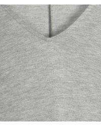 AllSaints Gray Camille Jersey Dress