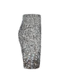 AllSaints Metallic Restrain Skirt