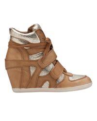 Ash Natural Bea Wedge Sneaker