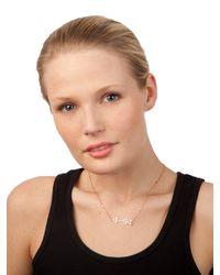 BaubleBar | Metallic Arrow Necklace | Lyst