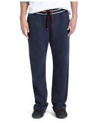 Brooks Brothers | Blue Fleece Pants for Men | Lyst