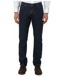 Brooks Brothers - Blue Slim Fit Five-pocket Supima® Denim for Men - Lyst