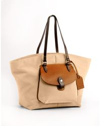 Dooney & Bourke - Nylon Pocket Shopper Bag - Lyst