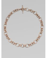 Ippolita - Metallic 18k Gold Chain Link Necklace - Lyst