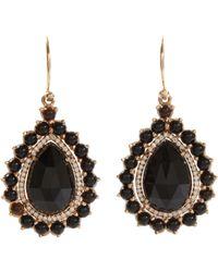 Irene Neuwirth Metallic Black Onyx Diamond Teardropshaped Earrings