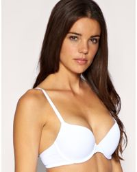 Ultimo | White A D Icon Bra | Lyst