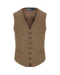 Polo Ralph Lauren Brown Mayfield Vest for men