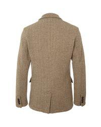 Polo Ralph Lauren Brown Tweed Herringbone Blazer for men