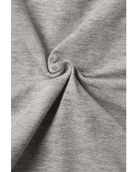 TOPSHOP | Gray Basic Sleeveless Crop Top | Lyst