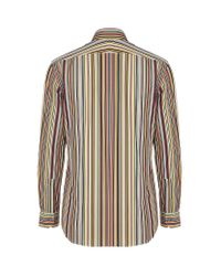 Paul Smith Multicolor Slimfit Signature Stripe Shirt for men