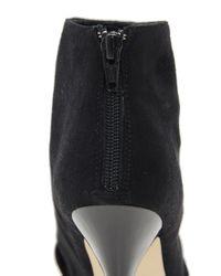 ASOS Black Tahiti Peep Toe Shoe Boots