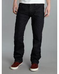 DIESEL | Blue Larkee 806x Straight Fit Jeans for Men | Lyst