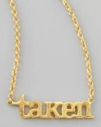 Dogeared - Metallic Taken Chain Necklace - Lyst