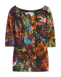 Erdem - Multicolor Arleen Printed Silk Top - Lyst
