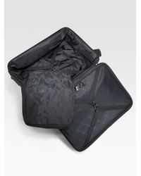 Longchamp Black Boxford Trolley for men