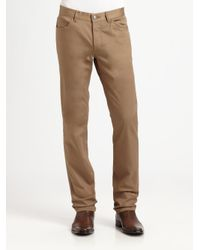 Theory Brown Haydin Writer Pant for men
