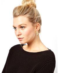 ASOS - Multicolor Ship Bird Earrings - Lyst