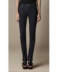 Burberry Blue Kensington Dark Indigo Slim Fit Jeans