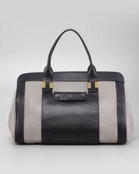 Chloé Alice Large Tote Handbag Cashmere Gray