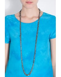 Day Birger et Mikkelsen - Multicolor Multi Metal Leaf Necklace - Lyst
