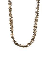Day Birger et Mikkelsen | Multicolor Multi Metal Leaf Necklace | Lyst