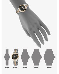 Gucci - Metallic G-timeless Two-tone Stainless Steel Bracelet Watch/38mm - Lyst
