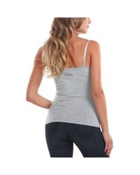 Guess | Gray Dulce Tank Top | Lyst