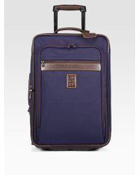 Longchamp Blue Boxford Trolley for men