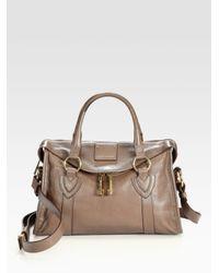Marc Jacobs Gray Small Fulton Bag