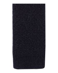 Paul Smith Blue Plain Knitted Tie for men