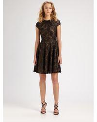 Shoshanna Black Heidi Dress