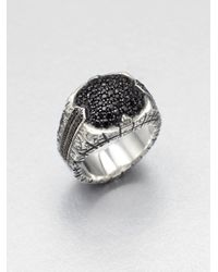 Stephen Webster | Metallic Sterling Silver Sapphire Ring for Men | Lyst