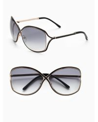 Tom Ford Black Rickie Sunglasses