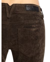 Vigoss Brown Corduroy Skinny Jeans