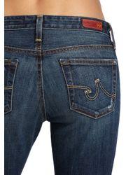 AG Jeans Blue The Stilt