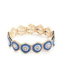 BaubleBar | Blue Notre Bracelet | Lyst